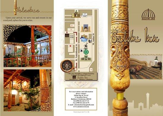 Salom Inn: Courtyard/Info