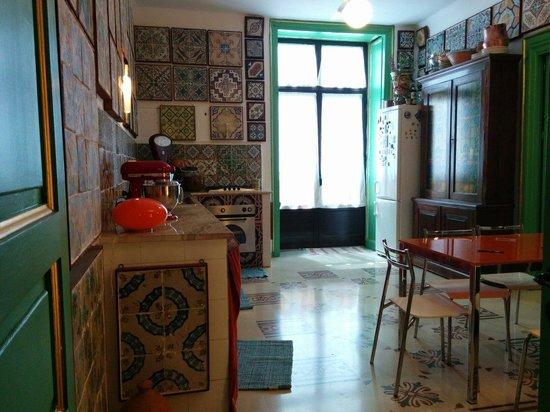 Museum of tiles Stanze al Genio: La cucina