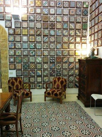 Museum of tiles Stanze al Genio : Uno scorcio della sala da pranzo