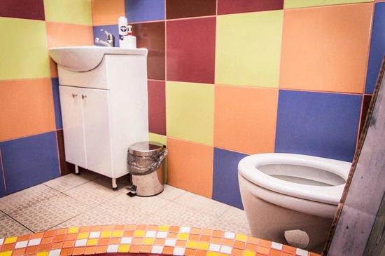 CP HOSTEL: Туалет