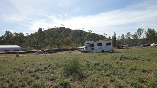 Ross River Resort : Camp ground