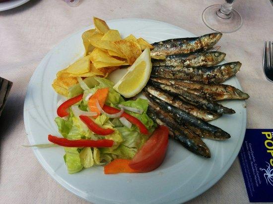 Restaurant POPS: Sardinas