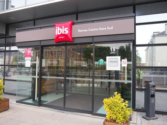 hotel exterior picture of ibis rennes centre gare sud rennes tripadvisor. Black Bedroom Furniture Sets. Home Design Ideas