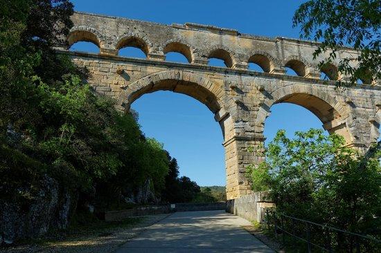 Le pont du gard foto van office de tourisme du pont du - Office de tourisme du pont du gard ...