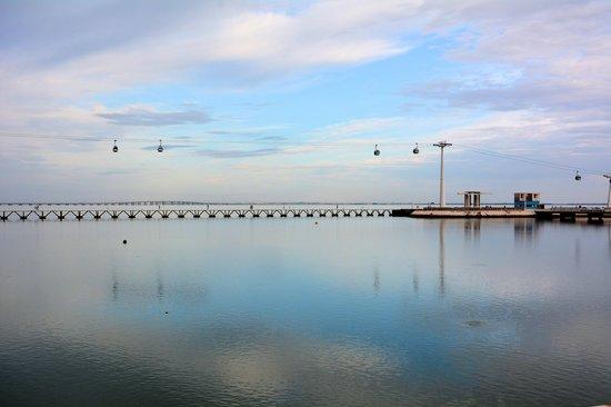 Vasco da Gama Bridge : オリエンテ地区からバスコダガマ橋