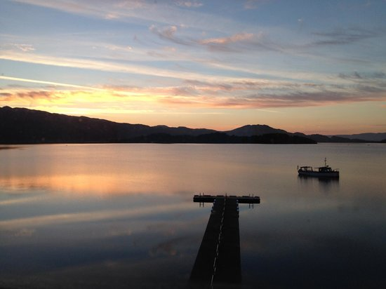 Lodge on Loch Lomond: Room with a view