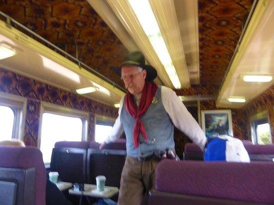 Grand Canyon Railway : THE MARSHALL TO PROTECT THE TRAIN