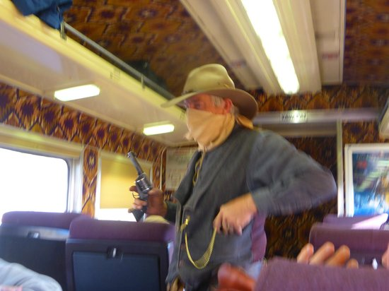 Grand Canyon Railway : AS DID THIS GUY