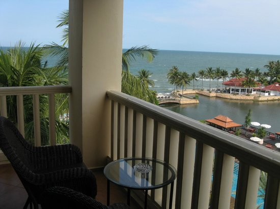 Dusit Thani Hua Hin: sea view