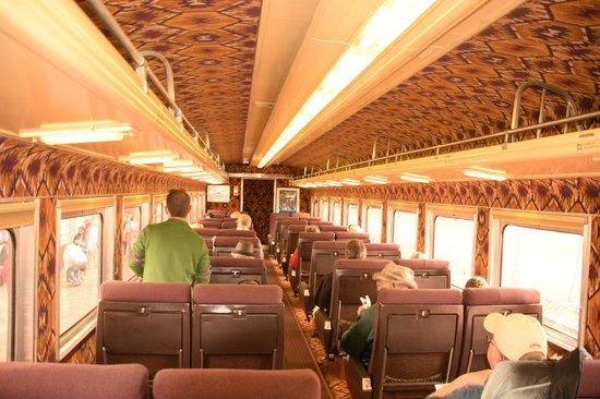 Grand Canyon Railway : THE FIRST CLASS COACH