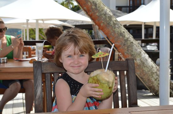 The Warwick Fiji: Birthday drink