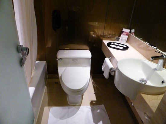 The Kowloon Hotel : 清潔感にあふれるトイレ
