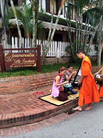 Villa Laodeum: good activity you should do in the early morning while staying in Luang Prabang and here is the
