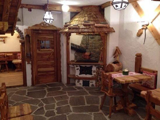 Hotel Chalet al Foss: saletta merenda
