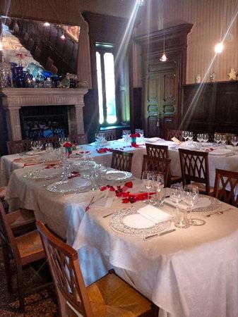 Charming Hotel Villa Soranzo Conestabile: Sala ristorante.