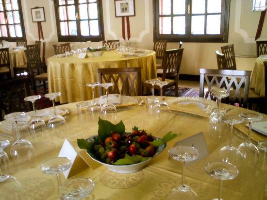 Charming Hotel Villa Soranzo Conestabile : Salone per cerimonie.
