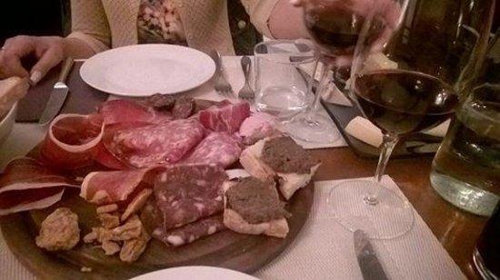 Club Culinario Toscano da Osvaldo : antipasto