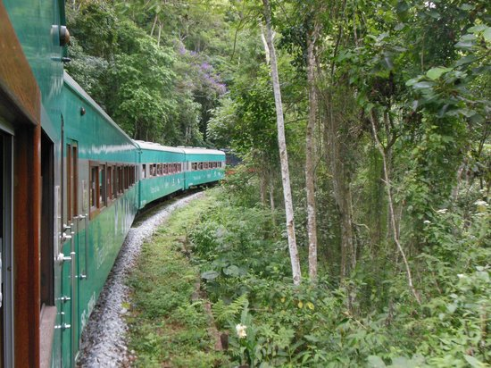 Trem da Vale – Ouro Preto e Mariana: onderweg
