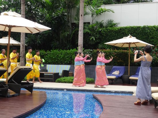 InterContinental Hua Hin Resort: Songkran festivities