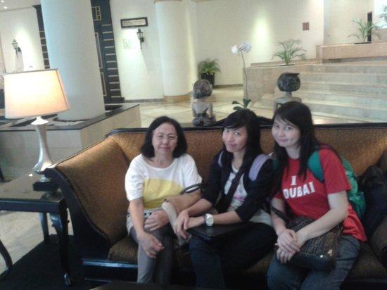 Hotel Santika Premiere Jogja : Lobi hotel