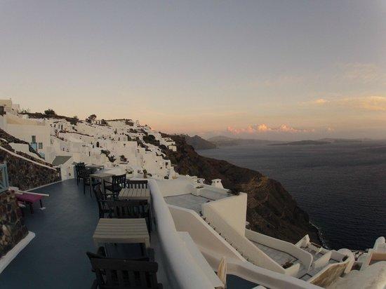 Aspa Villas: View from upper balcony