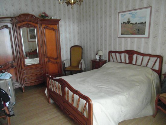 Logis de la Lande: La chambre