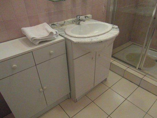 Logis de la Lande: La salle de bain