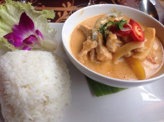 Villa Thai: Porc curry rouge