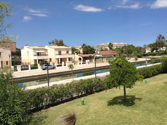 Seaclub Mediterranean Resort : View from the rear of the apartment