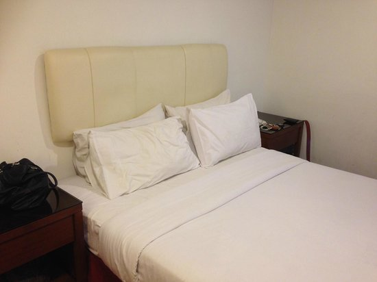 Habib Hotel: Bed - sheet could be cleaner