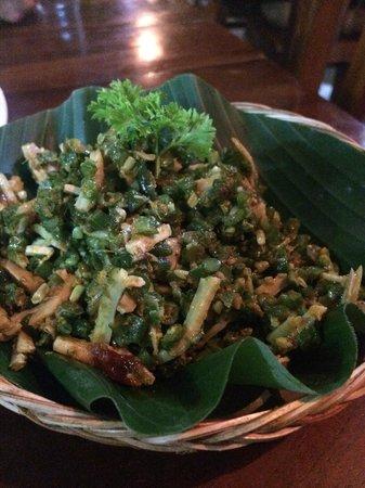 Warung Eny: Lawar dish (Starter)