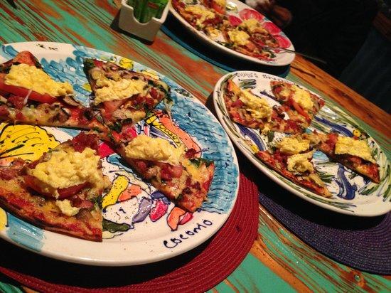 Cocomo Restaurant: The pizza breakfast