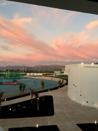 Club La Santa: Dusk from one of the new apartments