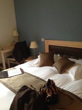 Hotel Haut-Koenigsbourg: chambre symple mais tres propre