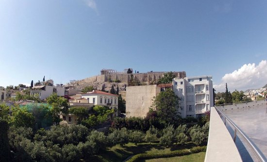 Acropolis Museum: The view from museum restaurant terrace