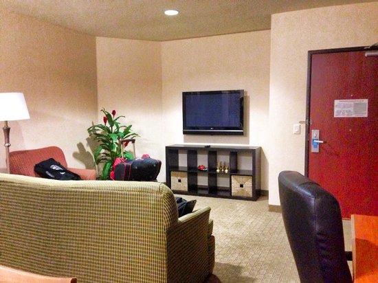 Comfort Suites Univ. of Phoenix Stadium Area: the living room