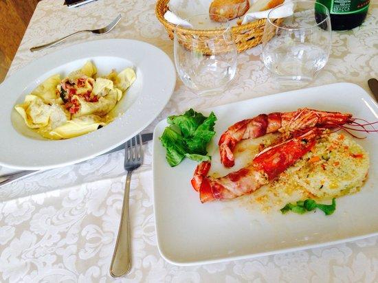 Hotel Resort & Spa Miramonti : Piatti della cucina