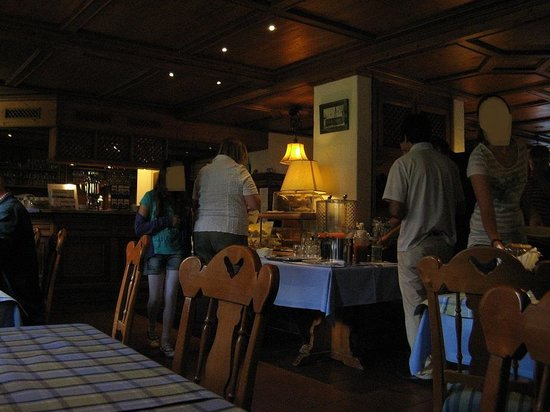 Landhotel Martinshof: restaurant
