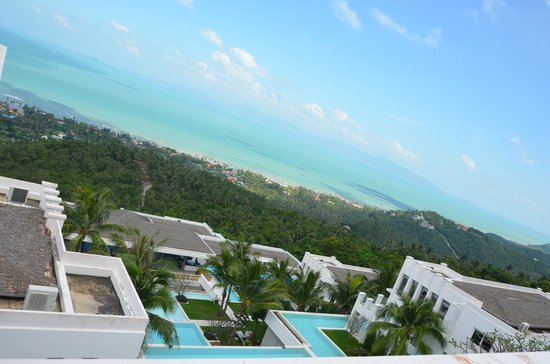 Infinity Residences & Resort Koh Samui: view from the villa