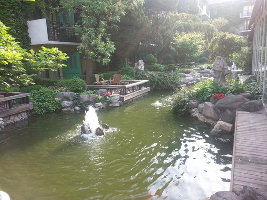 Beijing Jianguo Hotel : More of that cool stream.