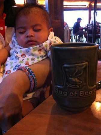 Bag of Beans Cafe and Restaurant: A dose of hot chocolate