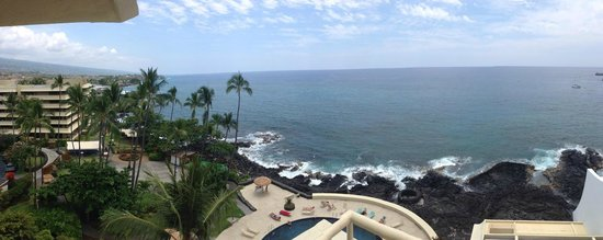 Royal Kona Resort: Our amazing view from our balcony!