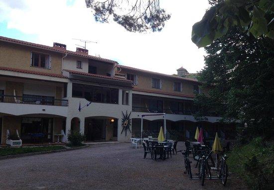 Hôtel Le Mas Fleuri: Entrée / Réception
