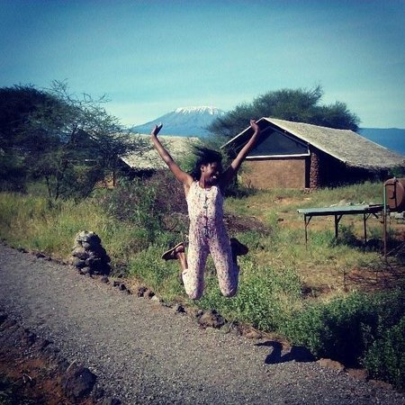 Kibo Safari Camp: at the camps
