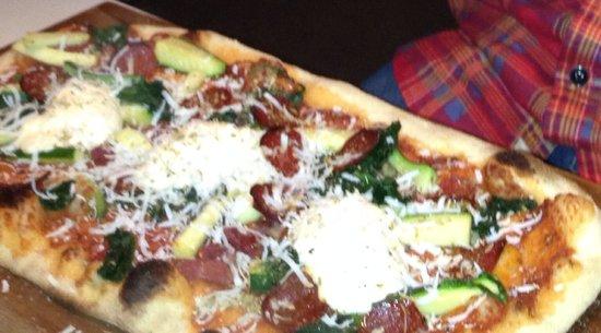 ASK Italian - Staines: Pizza special zucchini and mozzarella