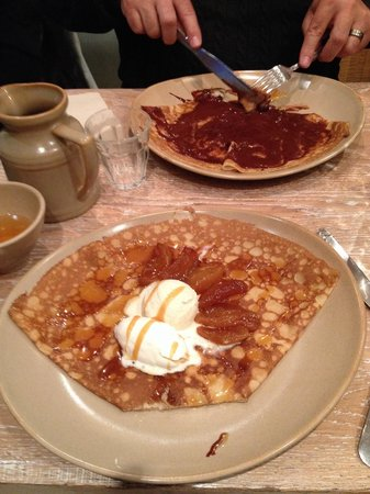 Breizh Cafe : Carmel Apple heaven