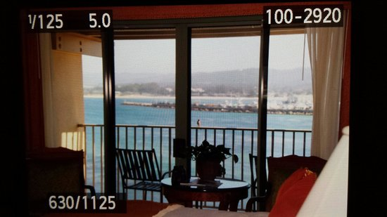 Monterey Plaza Hotel & Spa: Room with a view