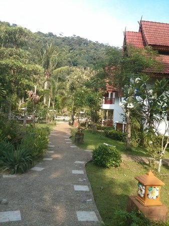 Thai Garden Hill Resort, Koh Chang : Территория отеля