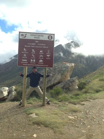 Swartberg Pass: The pass