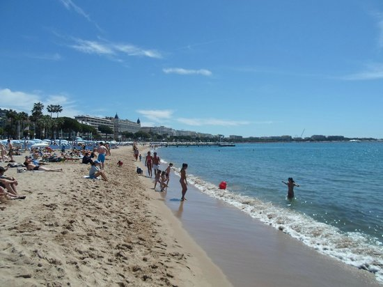 La Croisette : La spiaggia libera